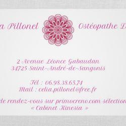 Prendre rendez-vous en ligne avec Célia PILLONEL - Ostéopathe